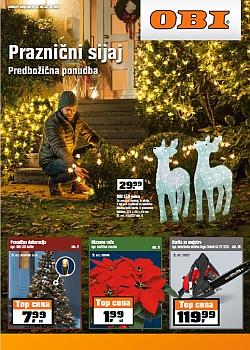 OBI katalog Praznični sijaj do 22. 11.