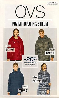 OVS katalog Pozimi toplo in s stilom
