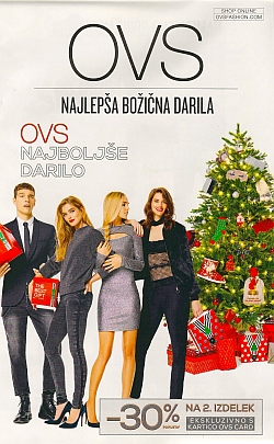 OVS katalog Najlepša božična darila