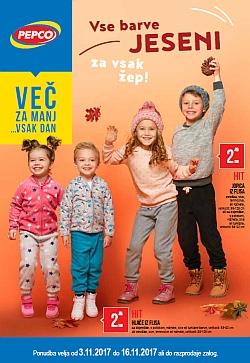 Pepco katalog Vse barve jeseni do 16. 11.