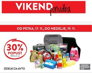 Spar in Interspar vikend akcija do 19. 11.