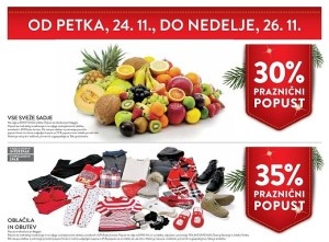 Spar in Interspar vikend akcija do 26. 11.
