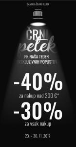 Sportina akcija Črni petek do 30. 11.