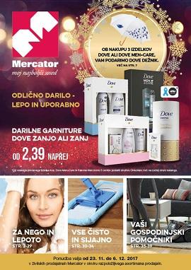 Mercator katalog Kozmetika do 6.12.