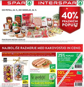 Spar in Interspar katalog do 5.12.
