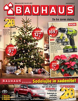 Bauhaus katalog december 2017