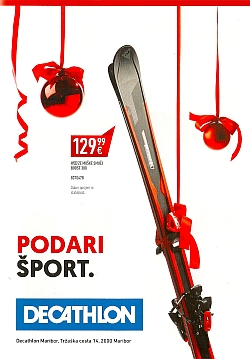 Decathlon katalog Maribor do 15. 12.