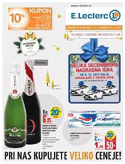 E Leclerc katalog Maribor do 17. 12.