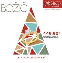 E Leclerc katalog Ljubljana Zlatarna božič 2017