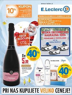 E Leclerc katalog Maribor do 31. 12.