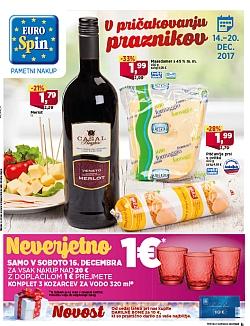 Eurospin katalog do 20. 12.