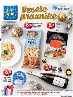 Eurospin katalog Vesele praznike do 27. 12.