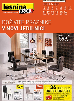 Lesnina katalog Jedilnice do 16. 12.