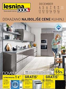 Lesnina katalog Kuhinje do 16. 12.