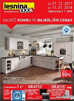 Lesnina katalog Kuhinje do 13. 01.