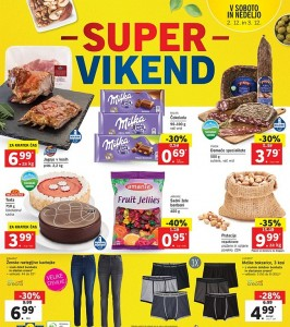 Lidl super vikend do 03. 12.