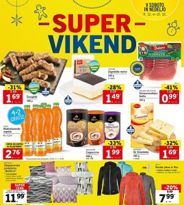Lidl super vikend do 10. 12.