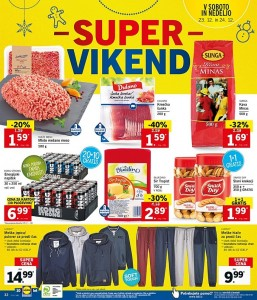 Lidl super vikend do 24. 12.