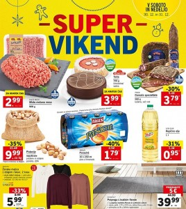 Lidl super vikend do 31. 12.