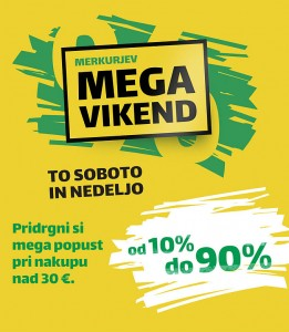 Merkur akcija Mega vikend do 10. 12.