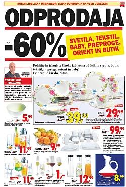 Rutar katalog Odprodaja svetil, tekstila do 02. 01.