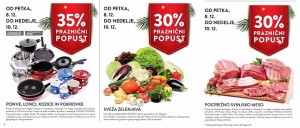 Spar in Interspar vikend akcija do 10. 12.