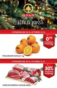 Spar in Interspar akcija do 19. 12.