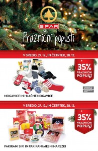 Spar in Interspar praznični popusti do 28. 12.