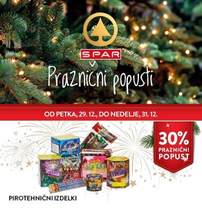 Spar in Interspar vikend akcija do 31. 12.