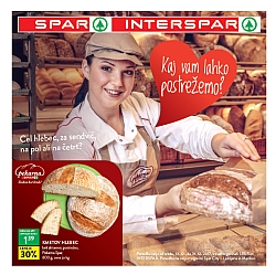 Spar in Interspar katalog Postrežba do 31. 12.
