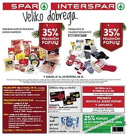 Spar in Interspar katalog do 03. 01.