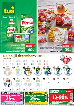 Tuš katalog trgovine in franšize do 18. 12.