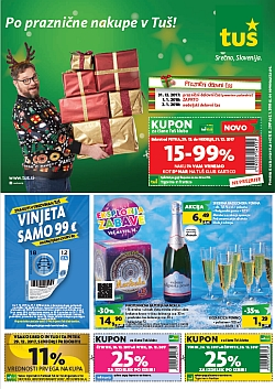 Tuš katalog trgovine in franšize do 02. 01.