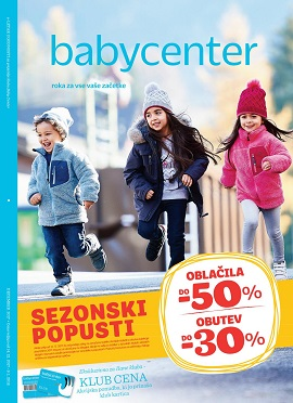 Baby Center katalog Sezonski popusti zima 2017