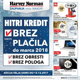 Harvey Norman katalog Magični prazniki do 13.12.