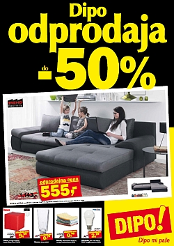 Dipo katalog Odprodaja do – 50 %