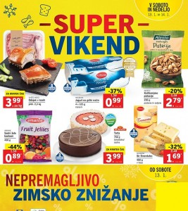 Lidl super vikend do 14. 01.