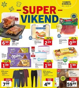 Lidl super vikend do 21. 01.