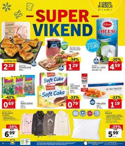Lidl super vikend do 28. 01.