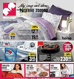Mercator katalog Vse za dom do 23. 01.