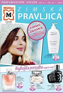 Muller katalog parfumerija Zimska pravljica