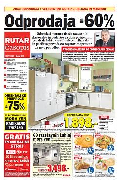 Rutar katalog Odprodaja kuhinj do – 60 %