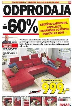 Rutar katalog Odprodaja do – 60 %