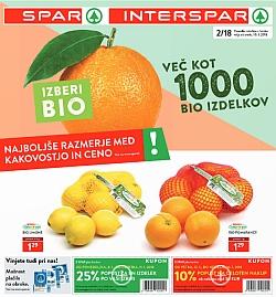 Spar in Interspar katalog