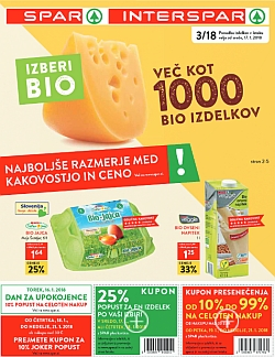 Spar in Interspar katalog do 23. 01.