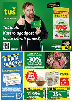 Tuš katalog trgovine in franšize do 22. 01.