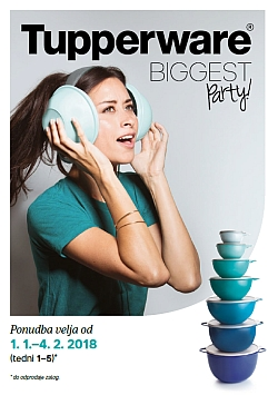 Tupperware katalog Biggest Party
