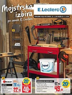 E Leclerc katalog Ljubljana Mojstrska izbira