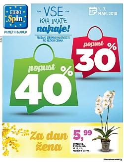 Eurospin katalog do 07. 03.