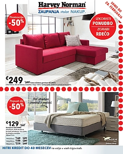 Harvey Norman katalog – Zgrabi rdečo do 28. 02.